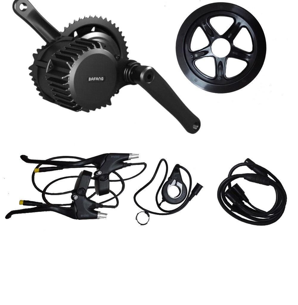 Bafang BBS02 48V 750W Ebike Motor kits C961 LCD 8fun/bafang mid drive Electric Bike conversion - Shenzhen Xwheel Power Co,.Ltd store
