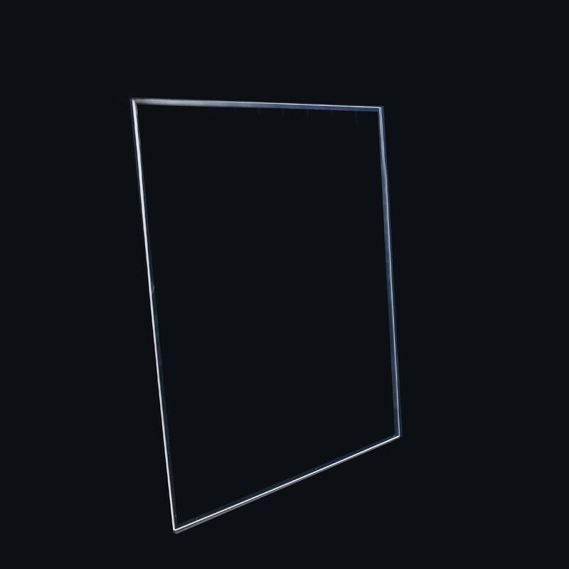 500mmx500mmx4mm Borosilicate Glass Build Plate for 3D Printer Glass Bed 500x500x4mm Square by Express Shipping