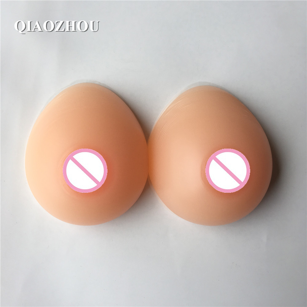 500g/pair A cup silicone breast forms for man cosplay realistic soft fake boobs prosthesis for mastectomy 400g pair a cup 100