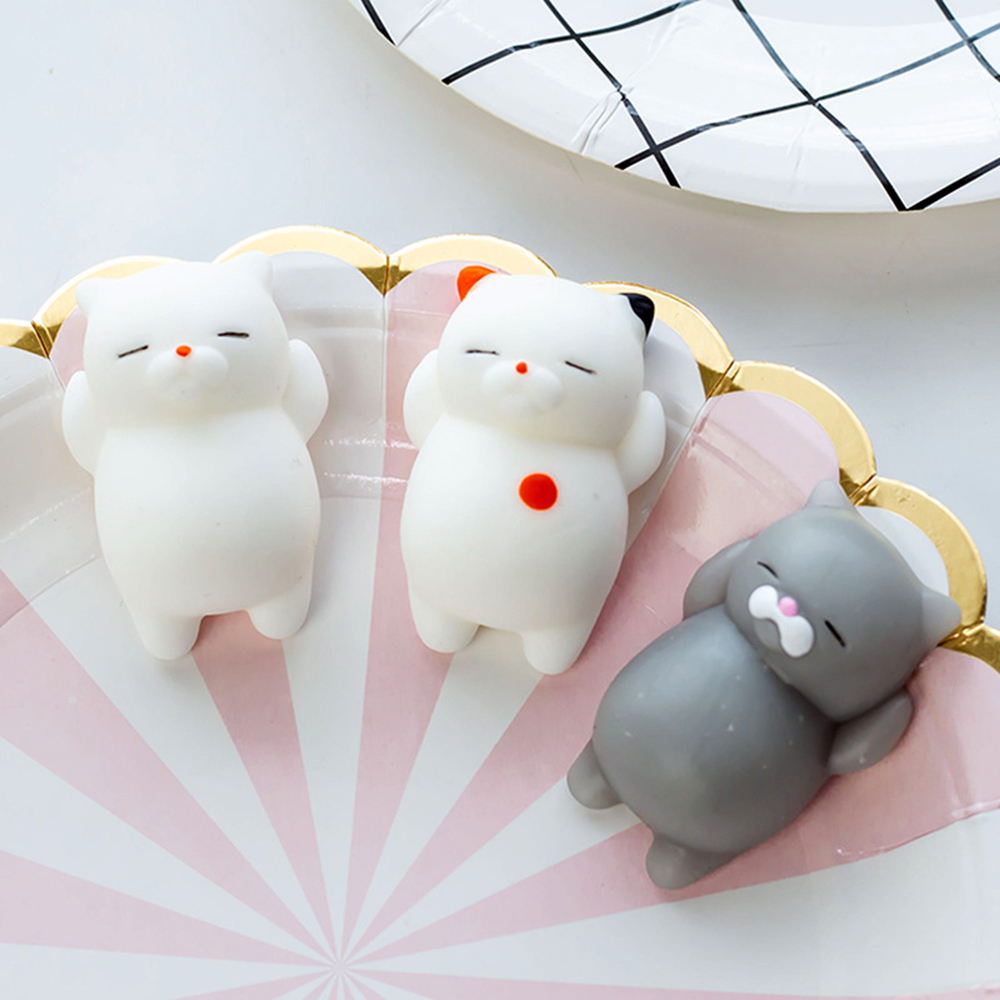 Squishy Toy Vent-Ball Relief-Toys Slime Entertainment Action-Figure Squeeze-Stress Little-Cat img2