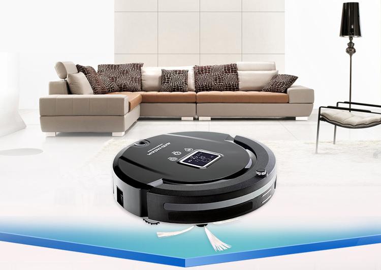 высококлассный многофункциональный робот пылесос, расписание, виртуальная стена, автоматическая подзарядка