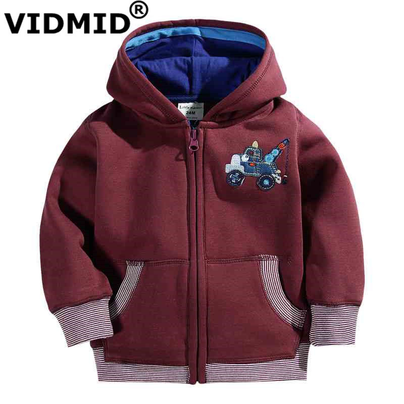 VIDMID 2-7Y boys jacket for baby boy children clothes girls jacket baseball outerwear for boys sports clothing hoodie cotton