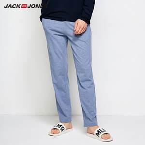 Jack Jones Cotton Pants Men Slim Fit Trousers Male Clothing