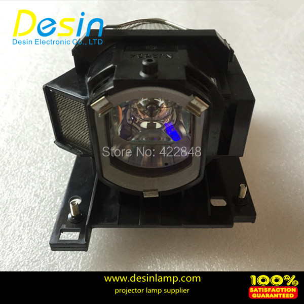Free Shipping DT01022/DT01026 projector lamp with housing for Hitachi CP-RX78/CP-RX78W/CP-RX80/CP-RX80W/ED-X24 Projectors free shipping original projector lamp for hitachi dt00341 with housing