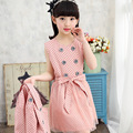 Girls Spring Suit New Korean Dress Jacket Two Pieces Sets Children's Leisure Kids Clothing Suit 4 Colour