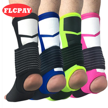 1Pair Sports Breathable Ankle Support Protector Adjustable Bandage Ankle Brace Pad Protection Elastic Soccer Brace Guard Support