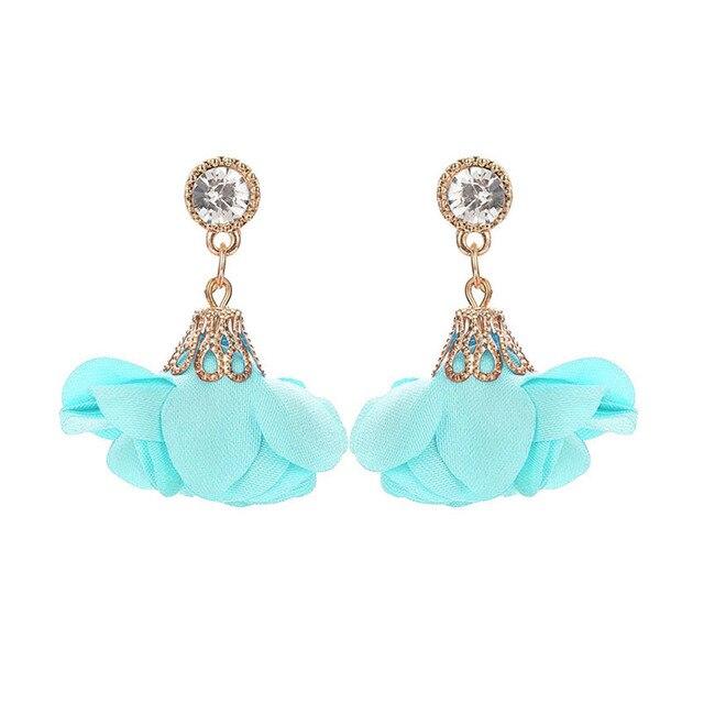 Crystal Drop Earrings For Women 3