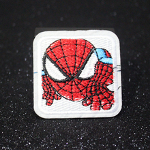 DIY Avengers Patch Iron on Patches On Clothes Embroidered For Clothing Star Wars Cartoon Badges Applique Stripes