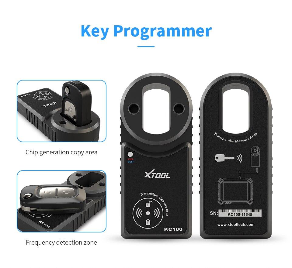 Programador de llaves Xtool