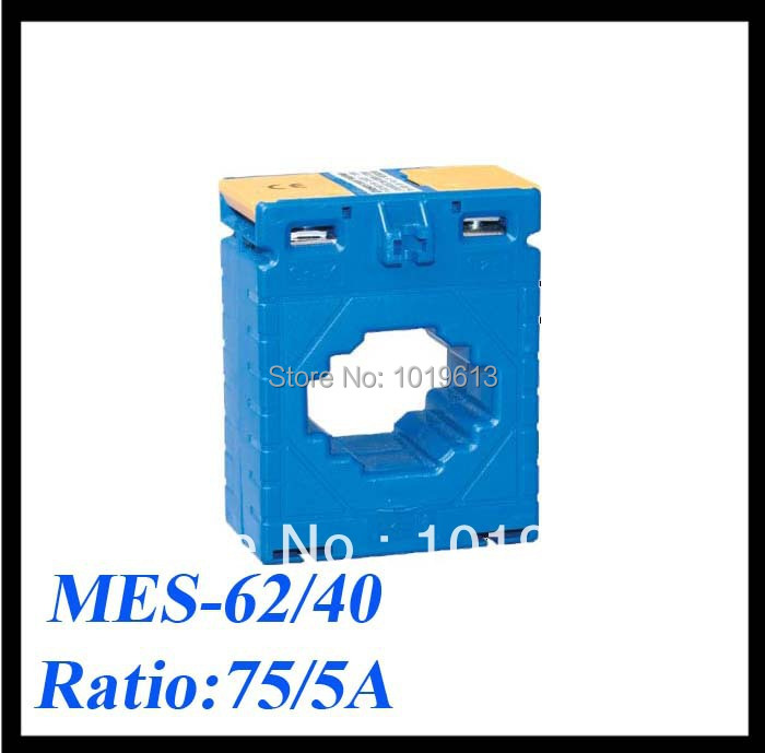 MES current transformer MES-62/40 75/5A class 1,1VA low voltage current sensor