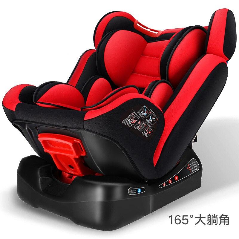 Bébé enfant voiture siège de sécurité ISOfix Automobile loquet harnais cinq Points enfants sièges réglable siège de voiture siège de sécurité 0 ~ 12Y