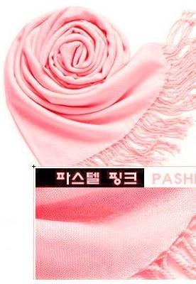 New Fashion 100% Faux Cashmere Scarf Kvinder Med Tassel Solid - Beklædningstilbehør - Foto 4