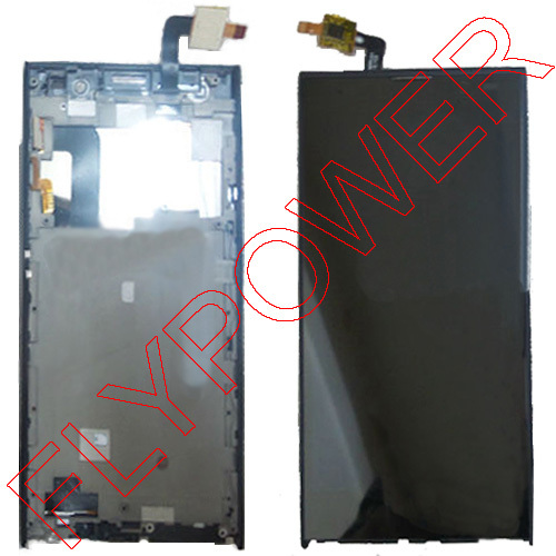 LCD Display +digitizer touch Screen + Frame FOR iNew V3 or V3 Plus Cellphone Assemblely Black by free shipping lcd screen display touch panel digitizer with frame for htc one m9 black or silver or gold free shipping