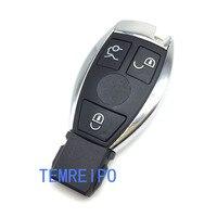 Замена Дистанционное управление ключа чехол для Mercedes Benz Smart Key пустой без корабль внутри Smart Key Shell