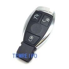 Сменный автомобильный смарт ключ с 3 кнопками для mercedes benz