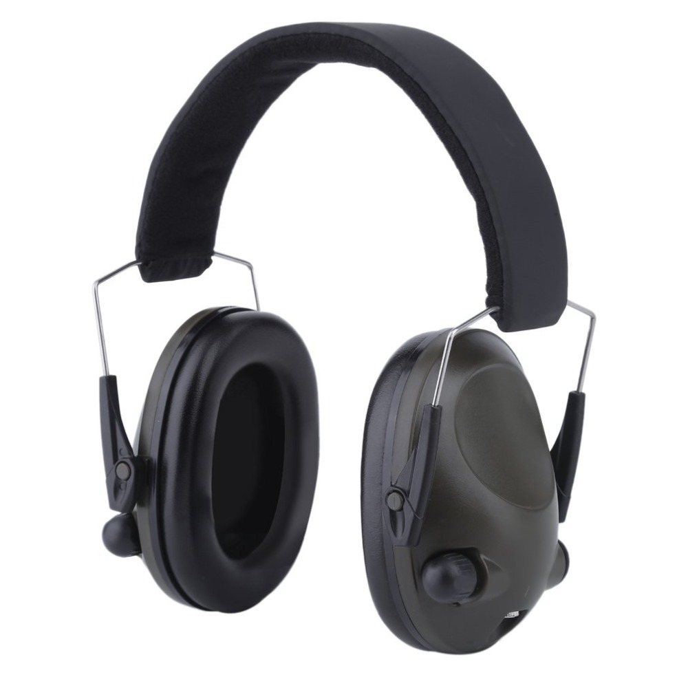 все цены на Electronic Ear Protector Sport Hunting Tactical Earmuff Shooting Ear Protector Workplace Safety Hearing Security & Protection онлайн