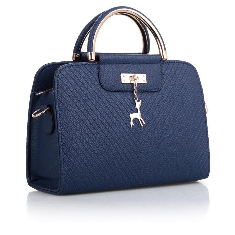 Handbag Women Shoulder Bag Women's Messenger Bags Designer Brand Small Deer Pendant Handbags Female High Quality Stereotypes Bag цена