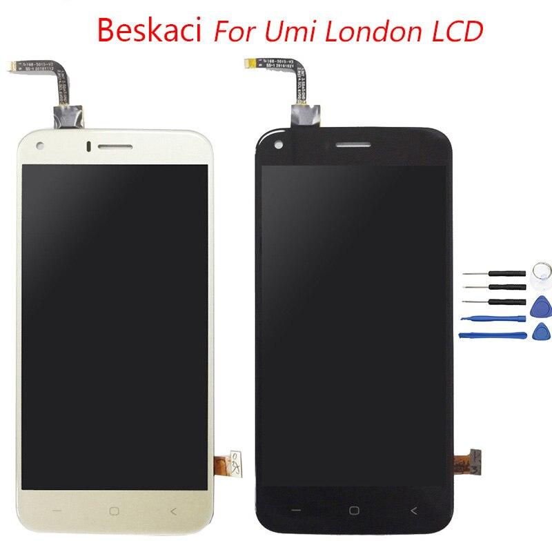 Beskaci 5,0 Display Für Umi London LCD Touch Screen Display Digitizer Montage Umidigi London LCD Bildschirm