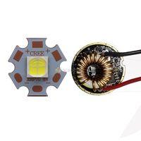 Freeshipping 10W Luminus PhlatLight SST 50 Bright White LED Emitter Light Bulb 20mm Base 5 Modes