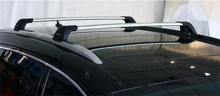 M-Way toit barres transversales Verrouillage Rack pour Volvo XC70 2007-2013 Break