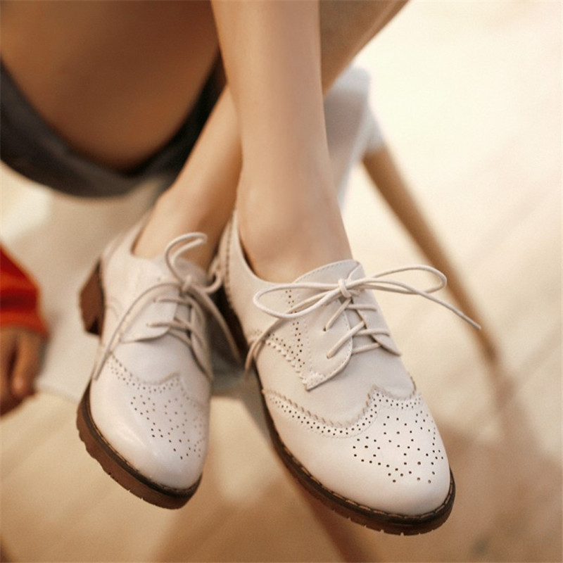 Retro leather Fashion Spring Autumn Women Sexy Pumps Girl And Woman high heels Lady Shoes CX057