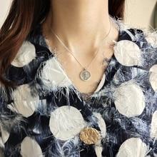 Silver Vintage Rose Designed Pendant Neckalce