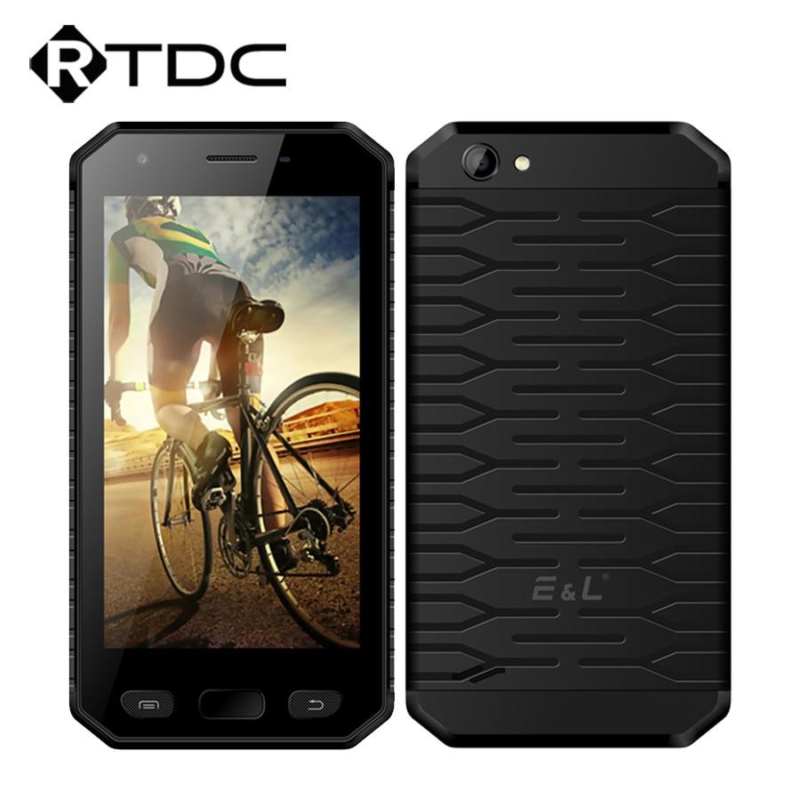 "Original E&L S30 IP68 Waterproof Mobile Phone 4.7""HD MTK6737 Quad Core 2GB RAM 16GB ROM Android 7.0 2950mAh 8.0MP Fingerprint"