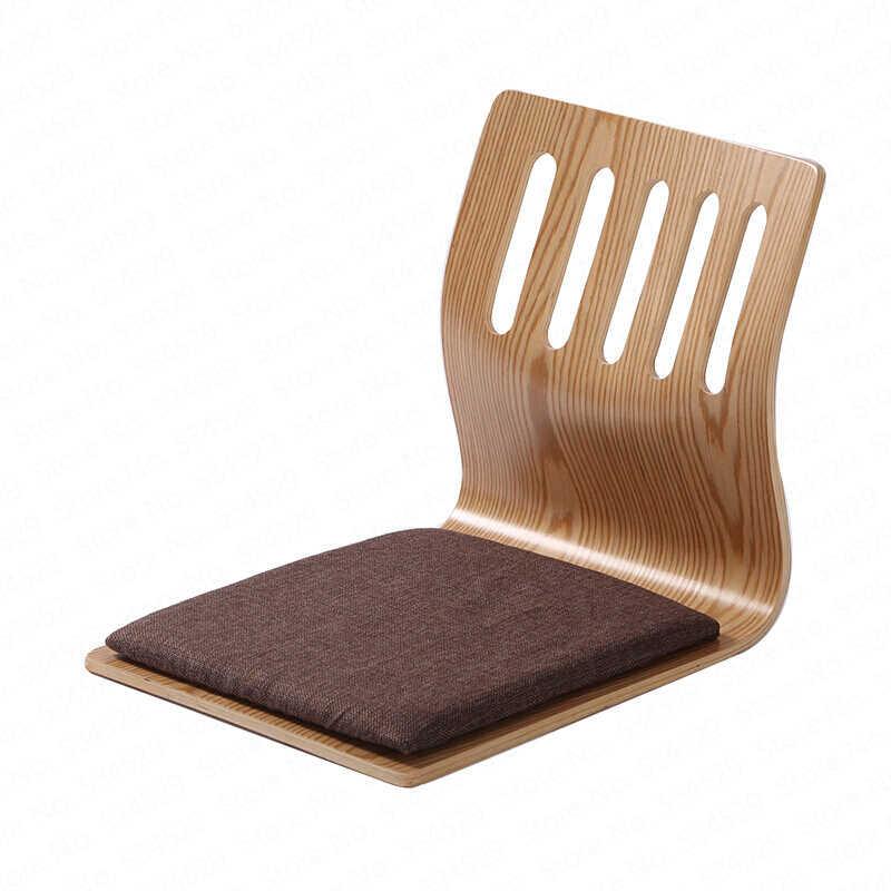 רצפת סלון טרקלין כיסא משענת מפרץ חלון מיטת שרפרף כיסא עצלן יפני סגנון חסר רגליים משחק כיסא Dotomy מרפסת כיסא