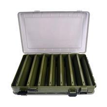 Рыболовная коробка для приманки, двухсторонние пластиковые ящики для приманки, рыболовные снасти, ящик для хранения, инструмент для хранения, принадлежности для рыбалки