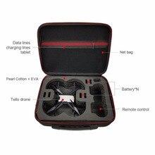 Дроны для DJI Тельо сумка протектор EVA внутренний Водонепроницаемый для DJI Тельо Drone Новые