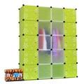 20 кубов легко ассамблея diy шкаф гардероб пластиковые шкаф шкаф организация шкафы для diy шкаф организатор