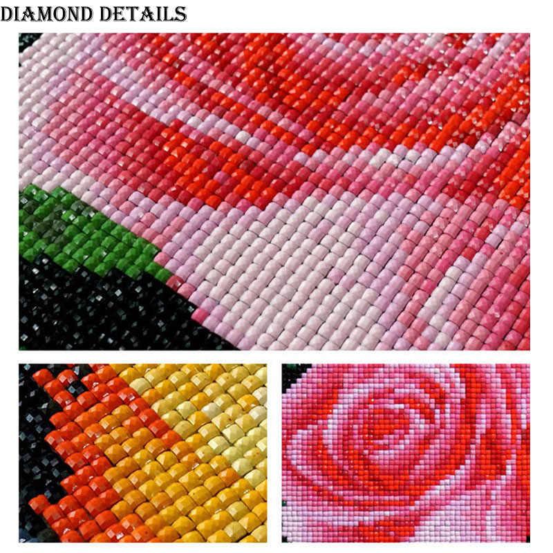 2019 Total Square/Rodada Broca de Diamante DIY Pintura Bordado menina mulher mascarada Decoração Presente da arte do Ponto da Cruz de Strass Mosaico