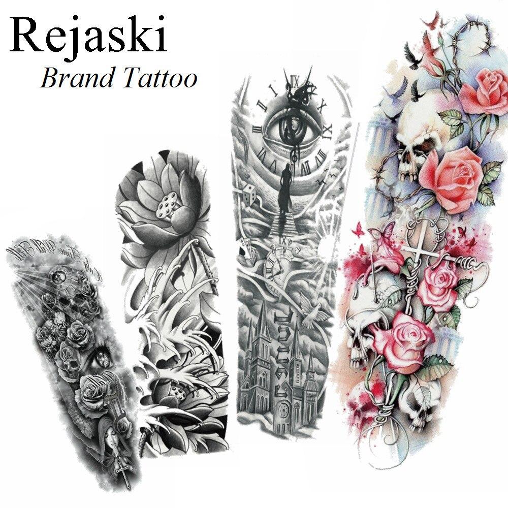 10149 руб 10 скидка3d карандаш эскиз лотос будда водонепроницаемый татуировка