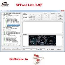 Программное обеспечение для коррекции пробега MTool Lite 1,27 версия прогона программист работает для регулировки изменения пробега автомобилей