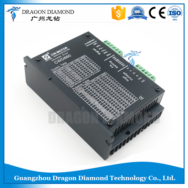 все цены на Micro-step 2-Phase cnc step motor driver CWD860 cheap price high performance 7.2A stepper motor driver