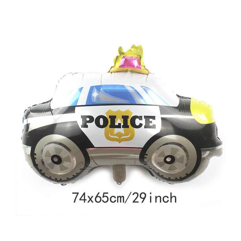 Słodka zabawka samochód folia balon dla dzieci Baby Shower chłopiec zbiornik samolot pogotowia data data powrotu (ogień ciężarówka pociąg samochodów balony Birthday Party dekoracje