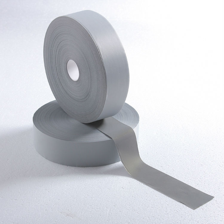 ФОТО TM9805 class2 reflective tape ,5cm*100m  Safety Warning  Reflective Fabric Material Tape Sewing On clothes