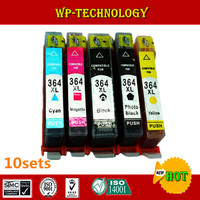 10 Sets Compatible Cartridge Suit For Hp364 HP 364 Suit For HP B8550 B8553 B8558