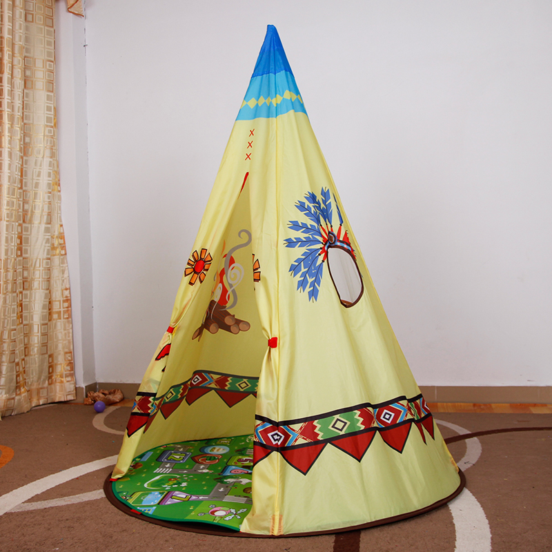 YARD Toy Tent Foldable Tipi Prince Folding Playhouses for Kids Folding Tent Children Teepee funko pop original 10cm boxed harry potter