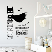 Diy Homework Wall Sticker Removable Wall Stickers Diy Wallpaper For Kids Room Living Room Home Decor Home Party Decor Wallpaper american style boxing gloves wall decor removable wall stickers diy wallpaper for kids rooms living room wall decal home decor