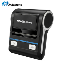 Milestone Thermal Printer POS Bluetooth Android 80mm Thermal Receipt Printer Portable Wireless Printing Machine MHT-P8001 mht p80a desktop connected thermal receipt printer 80mm cheap thermal printer