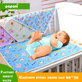 3 Color Top Fashion Lote Cotton Cartoon Waterproof Baby Changing Mat Cover Baby Products Nappy Changing Mat Mattress 4 Size