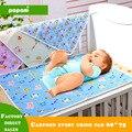 3 Colores Top de La Moda Lote de Dibujos Animados de Algodón Cubierta Impermeable con Cambiador Para Bebés Productos de Pañales Cambiador Colchón Del Bebé 4 Tamaño