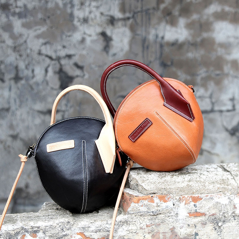 ФОТО 2017 new creative bag handmade leather Messenger bag female bag handbag shoulder bag lover gift