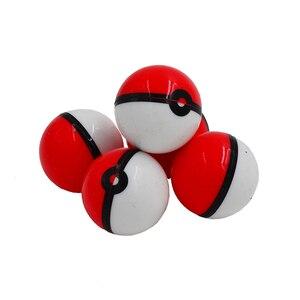 Image 1 - 20pc 6ml pokeballs silicone concentrado recipiente bola ou não vara cera pokeball óleo creme frascos dab & butano óleo ou frasco de óleo slick