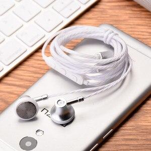 Image 4 - Ollivan MS16 наушники вкладыши 3,5 мм, спортивные наушники для бега с микрофоном, проводное управление, наушники для телефона/ПК/планшета