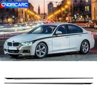 Sport Styling Car Side Skirt Sills Stickers Body Customized Waistline Decals For BMW 1/2/3/4/5 Series M3 M4 f10 f20 f30 e46 e90