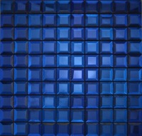 Blue Mirror Glass Mosaic, Backsplash Tiles for Kitchen/Bathroom/cabinet wall,LSMR3004
