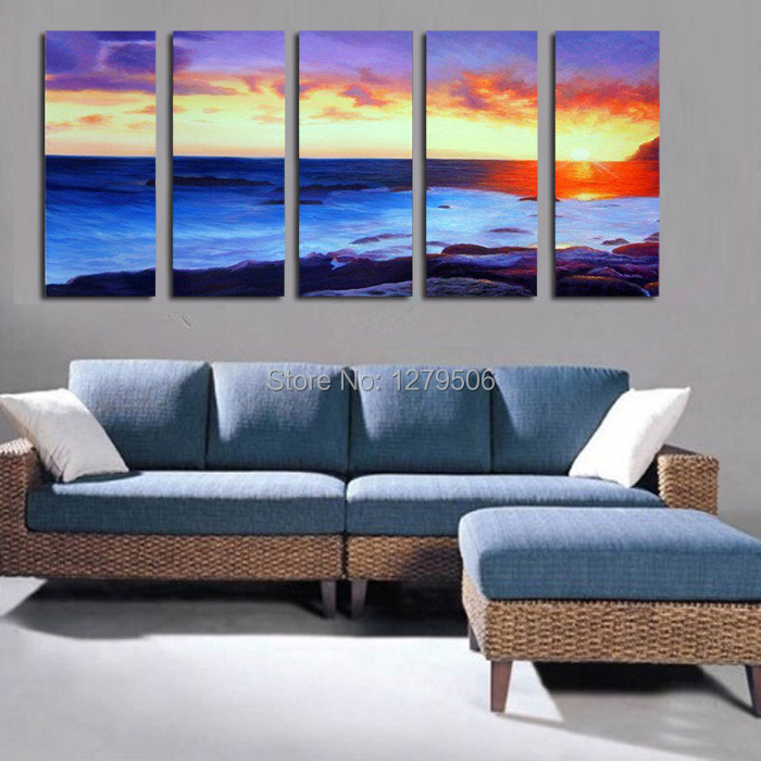 Aliexpress.com : Buy Handmade Oil Painting On Canvas Wall