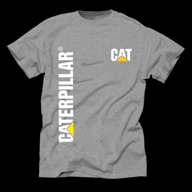 063afdcef New Caterpillar CAT Men s Cotton Comfort Trademark Signature T-Shirt color  gray 100% Cotton Brand New T Shirts